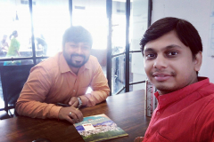 With Oyo India -  Shivam Mishra