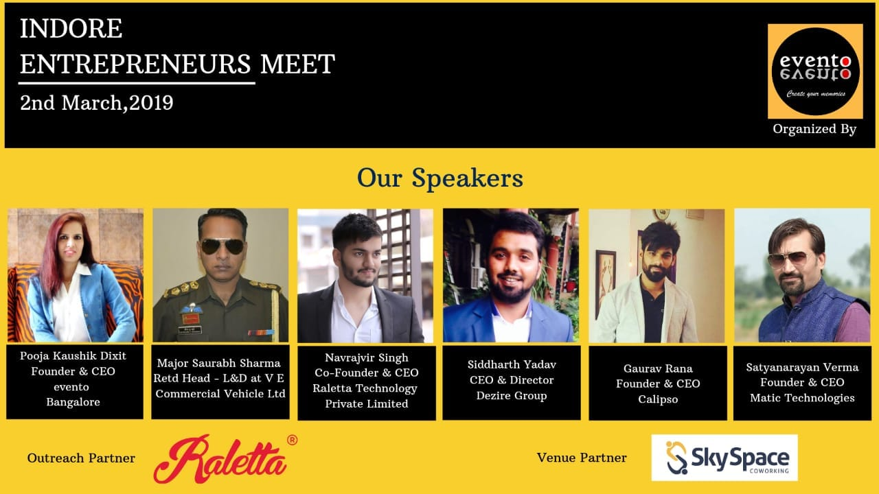 Indore Entrepreneurs MEET 2019