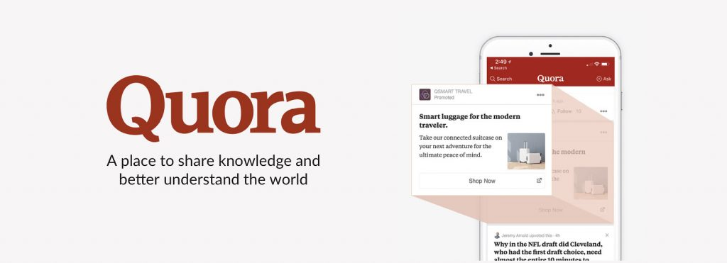 Quora, questions. answers, knowledge, sharing, writing