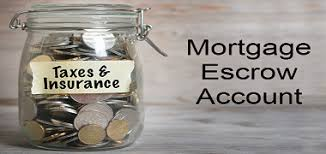 Escrow for taxes and insurance